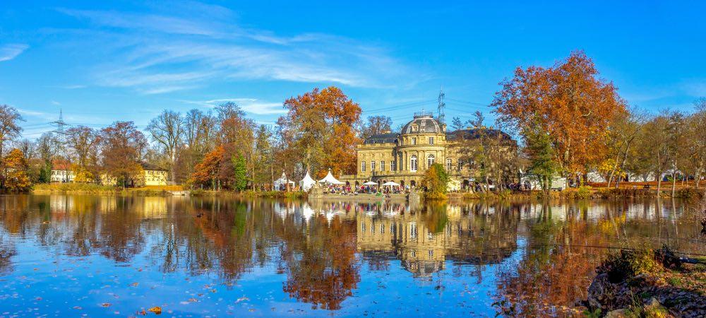 kasteel monrepos in Ludwigsburg