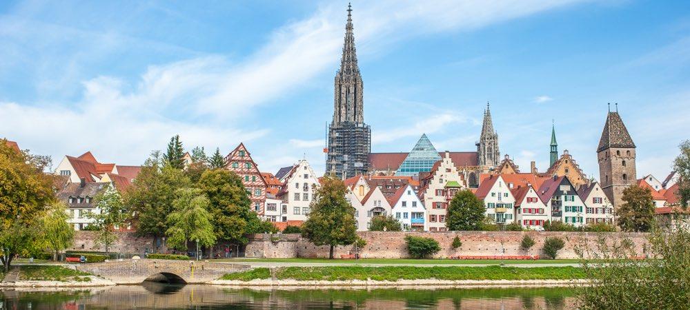 panorama van Ulm
