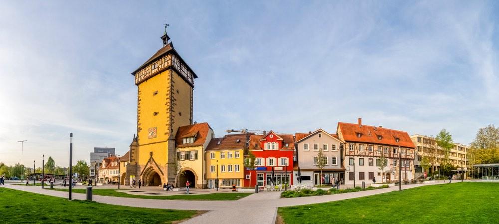 tübinger poort in Reutlingen