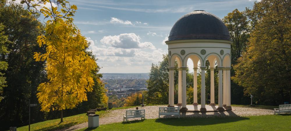 monopteros tempel in Wiesbaden